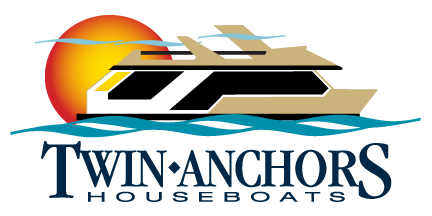 Twin Anchors Houseboat Vacations Logo